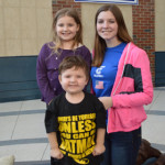 Student with Chase Foley and his sister