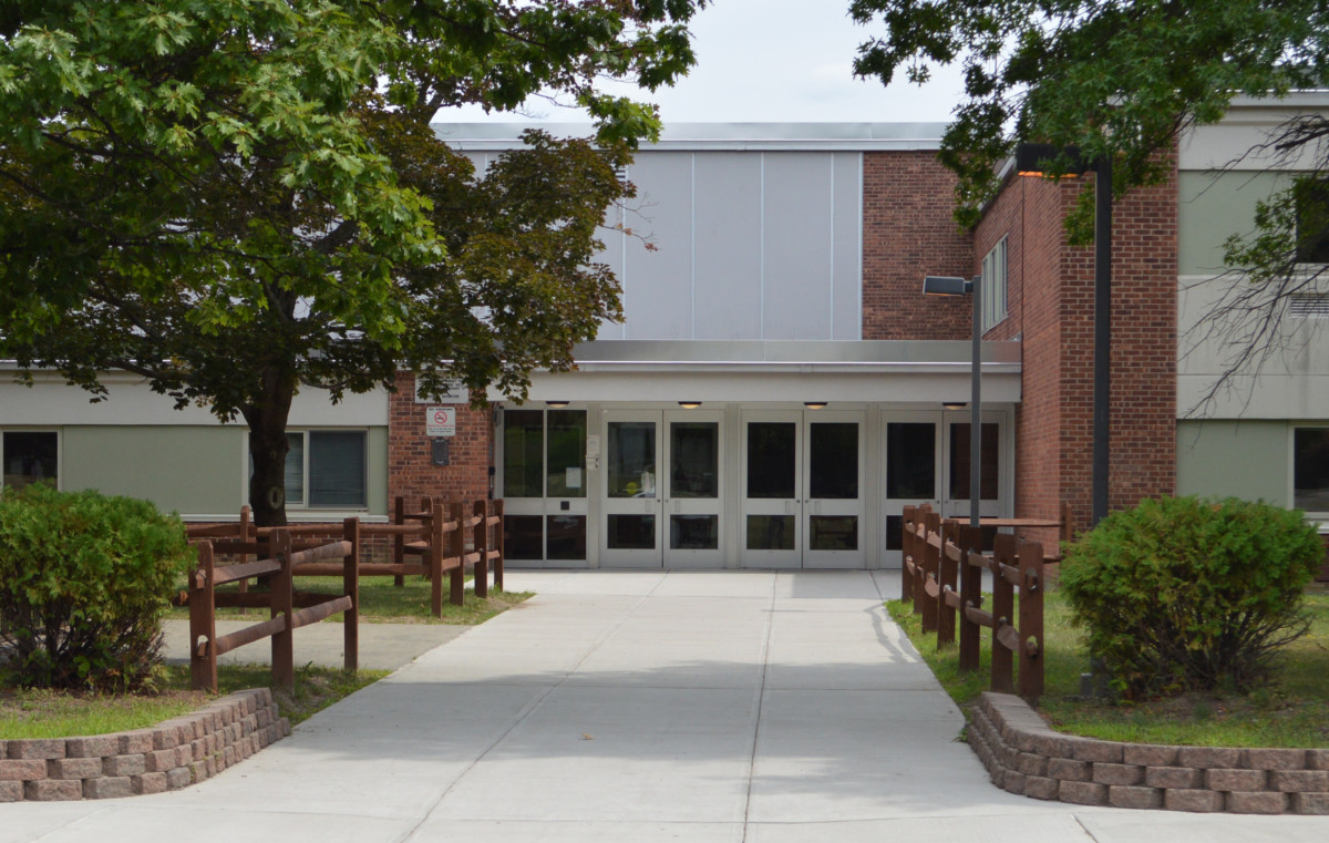 Goff Middle School entrance