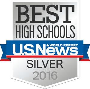 US News silver medal logo