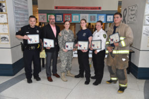 Heroes at 2016 District-wide Art Show