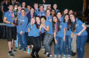 Columbia Science Olympiad at 2016 State Championship