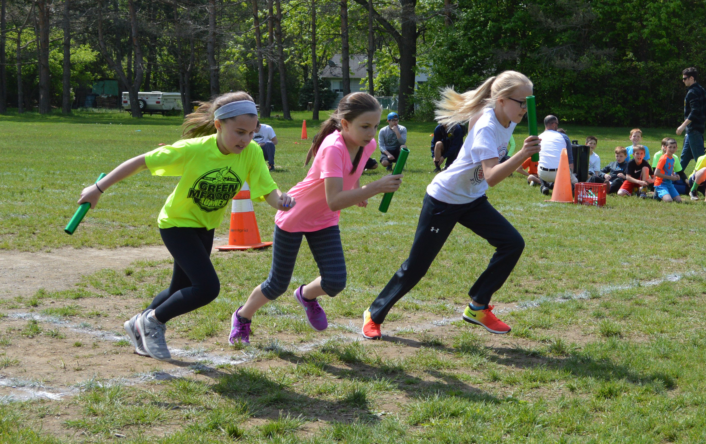 Green Meadow Field Day race