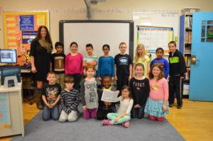 Genet class wins math competition