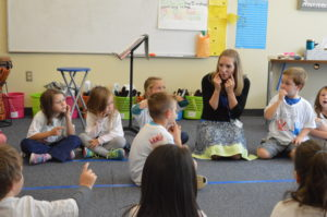 Green Meadow music class