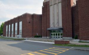 Genet Elementary School entrance