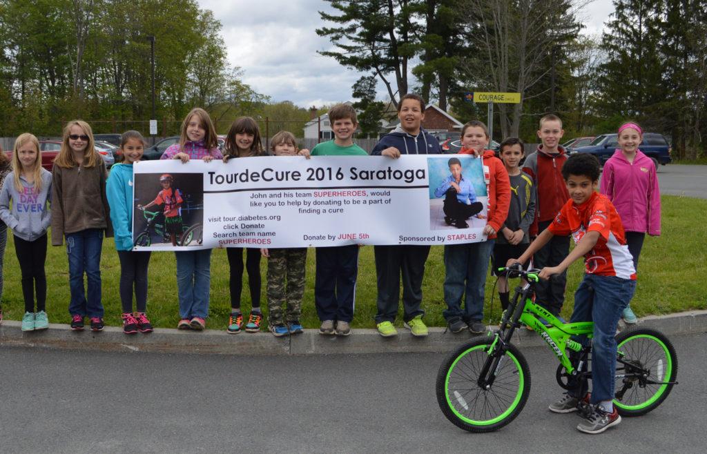 DPS Tour de Cure group photo