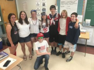 Spirit Week USA Day
