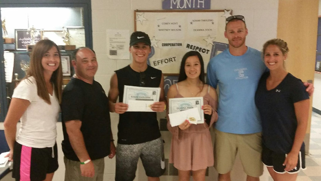 Columbia PE Students of the Year
