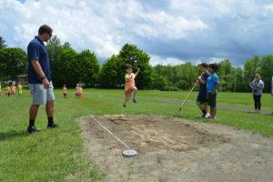 Genet Kindergarten Field Day 2016 long jump