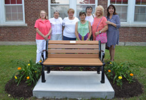 Genet 75th Anniversary bench dedication