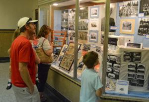 Genet 75th Anniversary display case