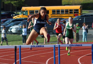 Fiona Shea hurdles