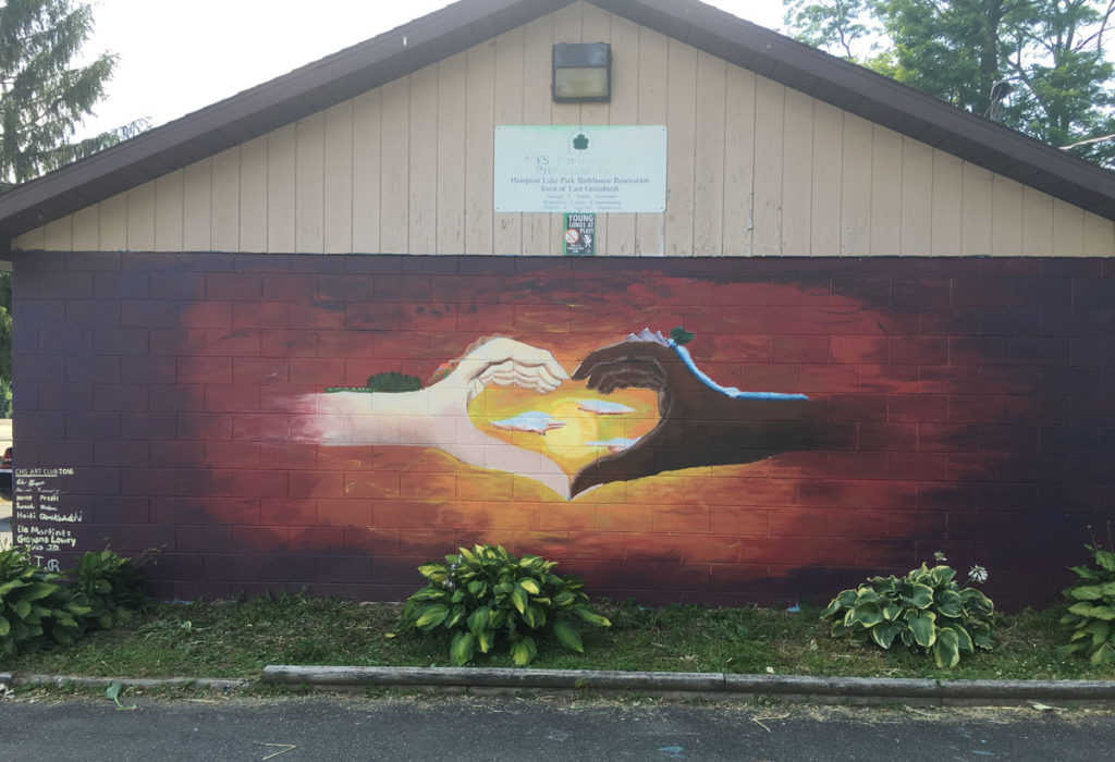Hampton Lake Manor mural 2