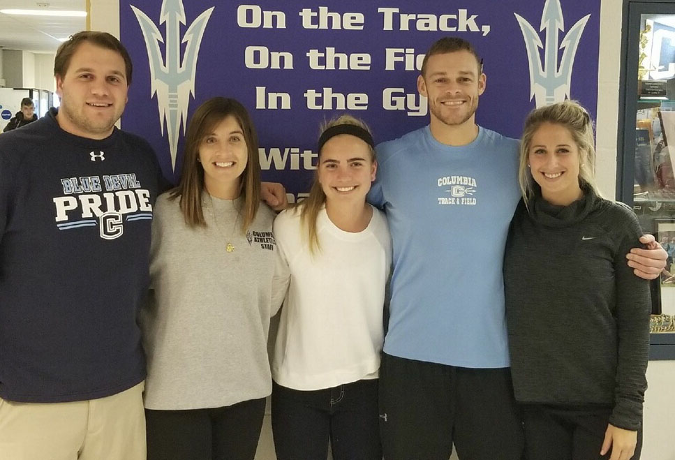 PE Department Announces October Students of the Month