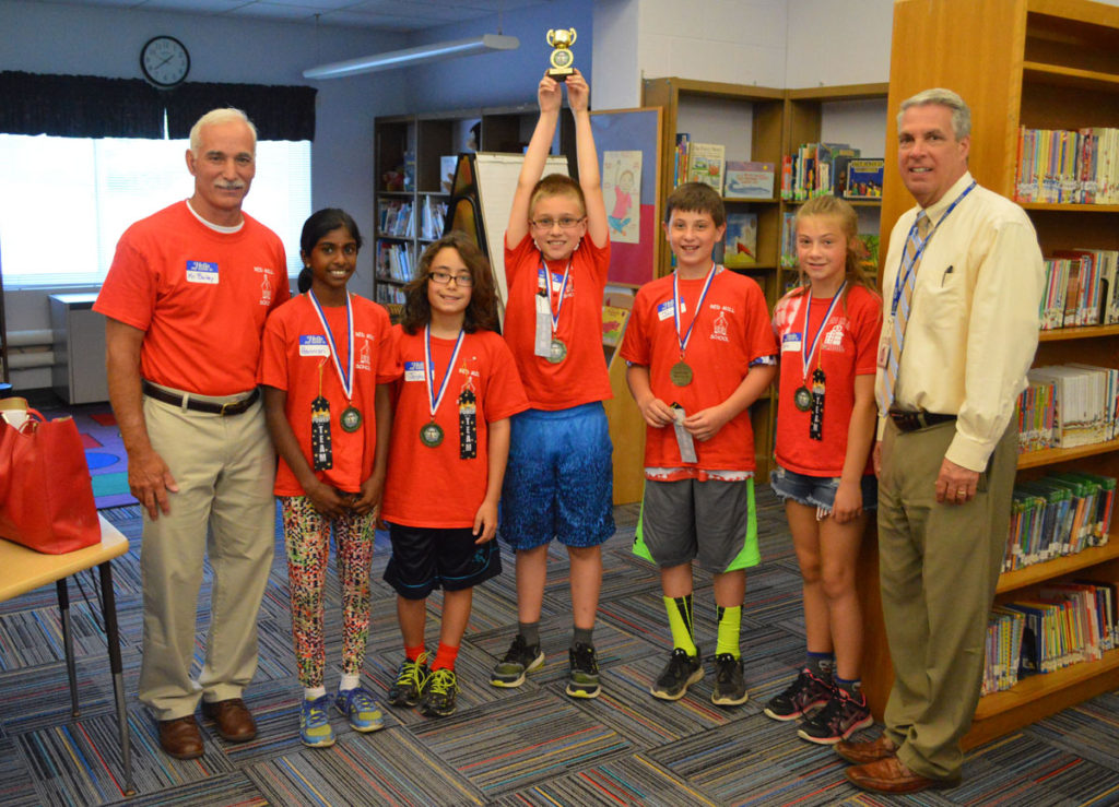 Red Mill 5th grade math competition