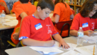 Red Mill student 5th grade math competition