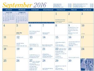 2016-17 District Calendar