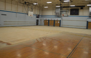 Goff Middle School gymnasium