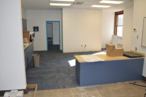 Genet Elementary School main office.