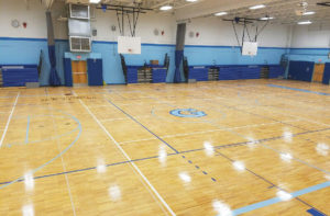 Goff gym renovation