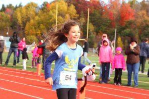 Barrett Memorial Run finish