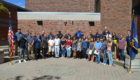 Group photo from 9-11 Remembrance event at Columbia