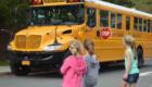 Kindergarten bus safety