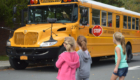 Kindergarten bus safety