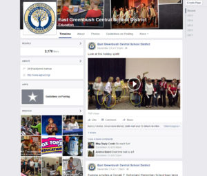 East Greenbush CSD Facebook page