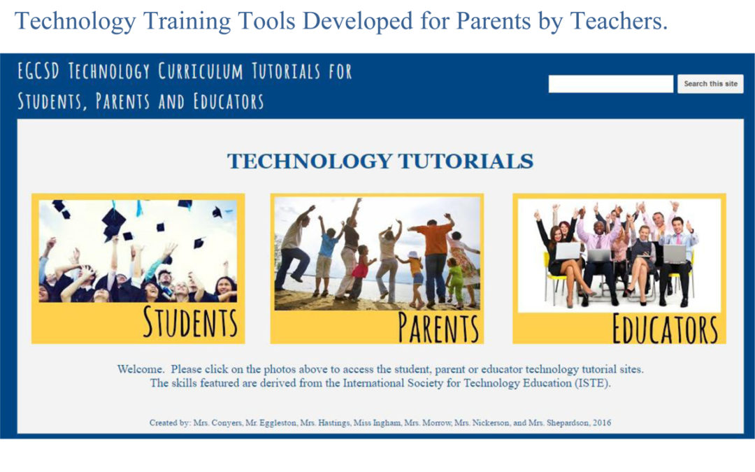 Technology Tutorials for Parents, Students and Educators