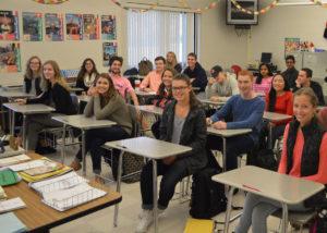 Mrs. Hannmann's French 4/5 class.