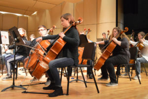 Columbia orchestra at 2015-16 Instrumental Festival