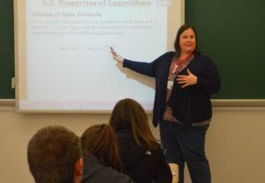 Jessica Hladik teaching
