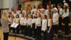 Red Mill chorus performing at Holiday Concert