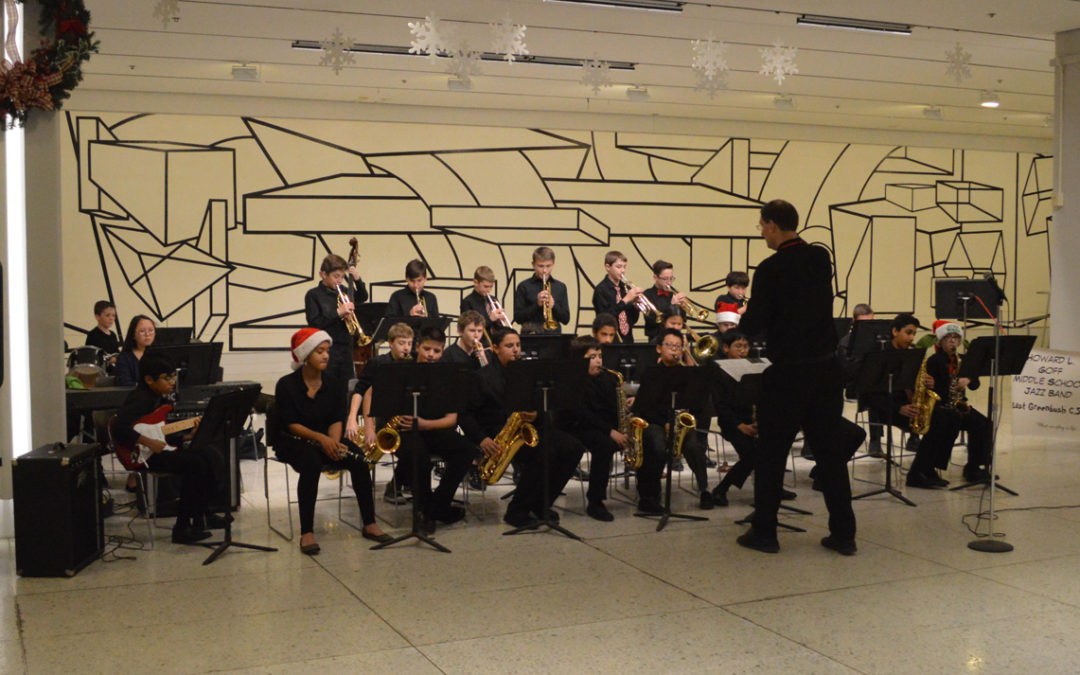 Goff Musicians Bring Holiday Spirit to Empire State Plaza