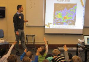 Meteorologist in Genet kindergarten