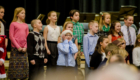 Student chorus sings at holiday concert