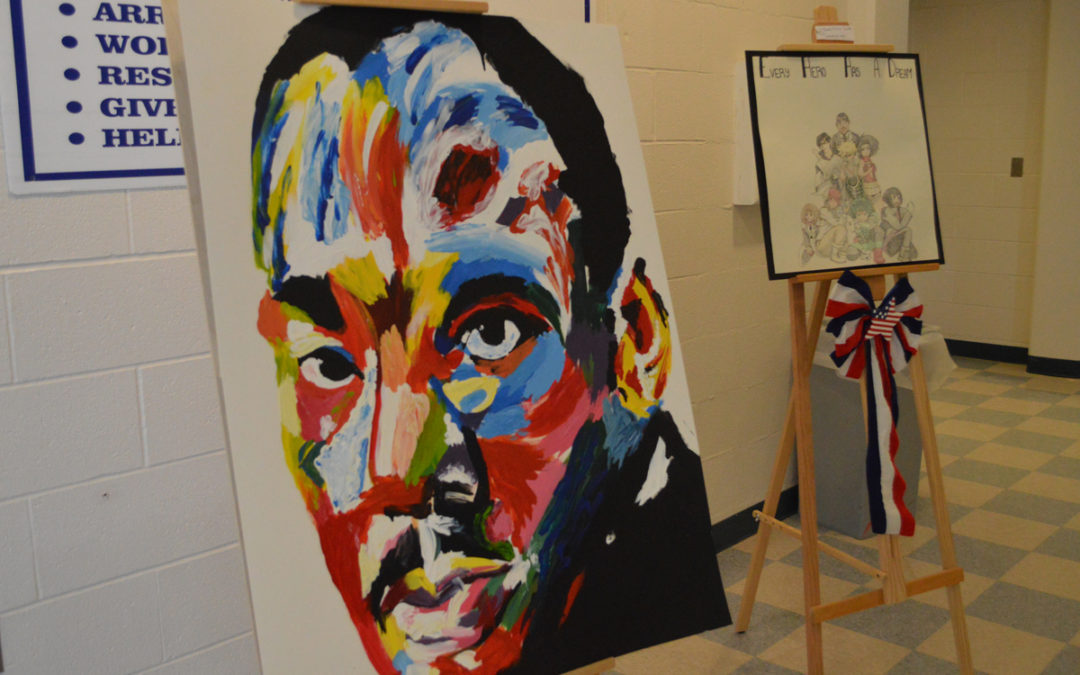 Artwork Honors MLK
