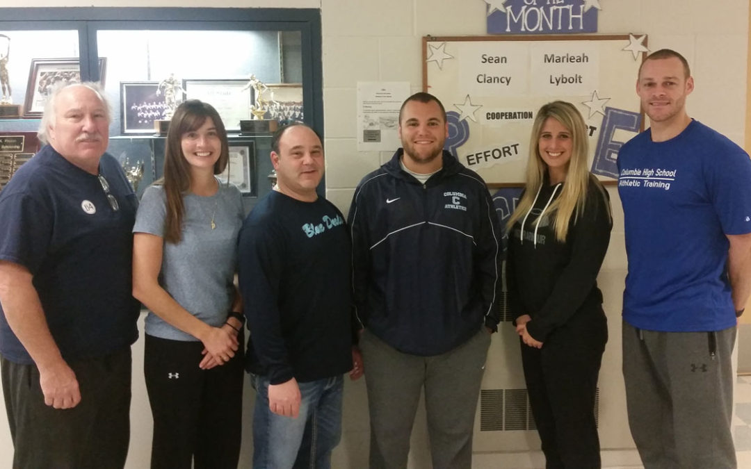 Columbia Students Win Leadership Award for Health and Physical Education