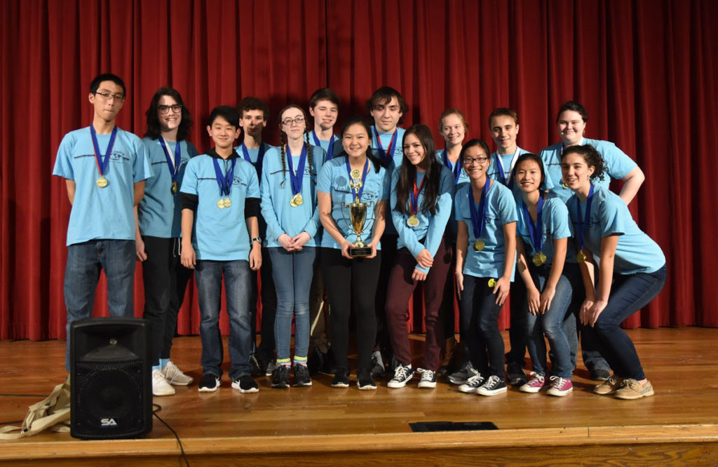 Columbia Science Olympiad