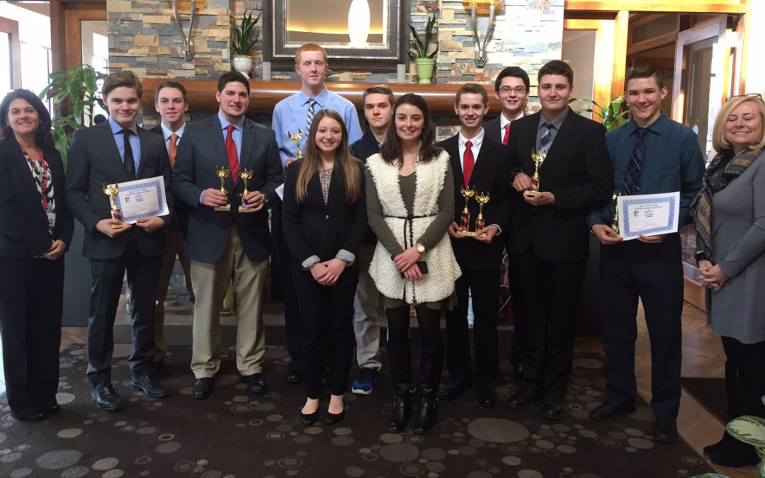 Seven Students Win Awards at FBLA Competition