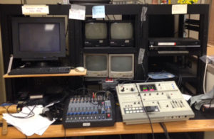 Goff TV studio