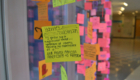 Harriet Tubman post it note