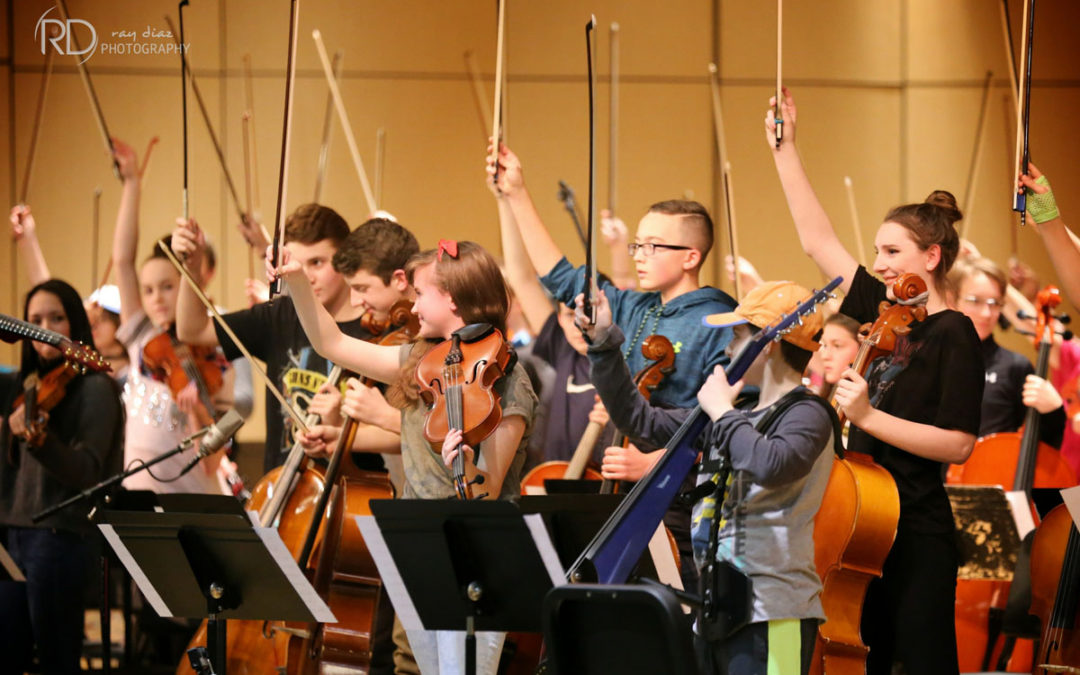 Orchestra Musicians Rock Out