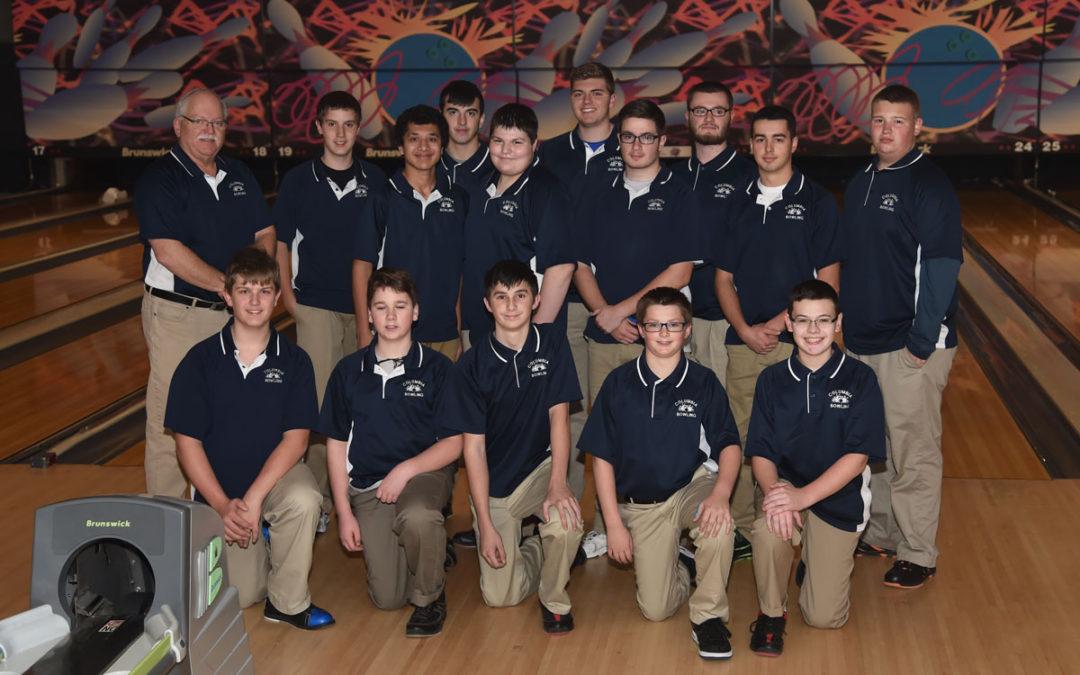 Columbia Boys' Bowling Celebrates Undefeated Season