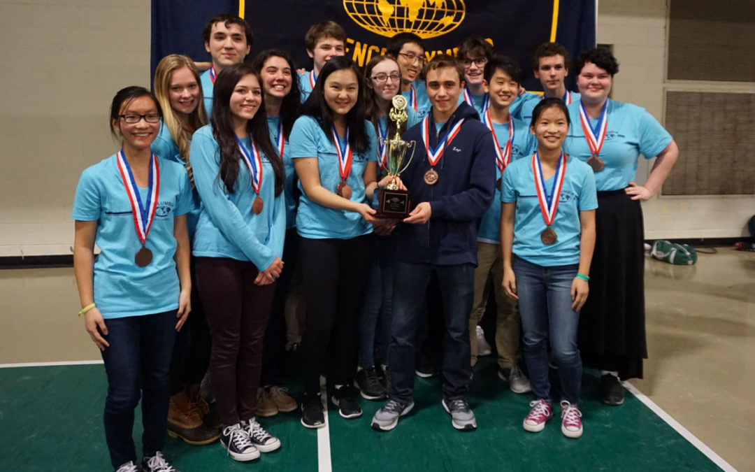 Regeneron Continues Support of Columbia Science Olympiad with $2,500 Donation