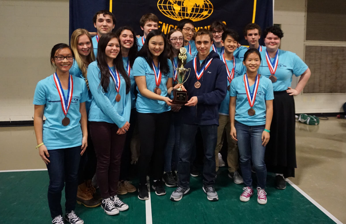 Columbia Science Olympiad team
