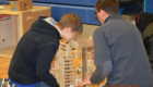 Students work together during Science Olympiad competition