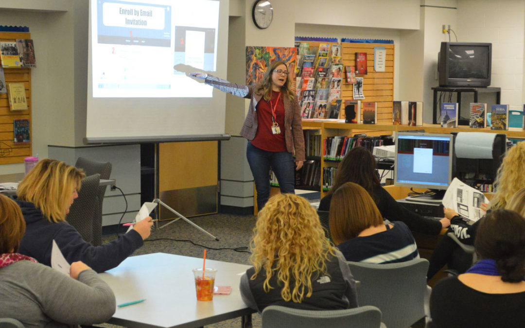 Professional Development Day Focuses on Instructional Technology