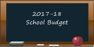 2017-18 School Budget graphic